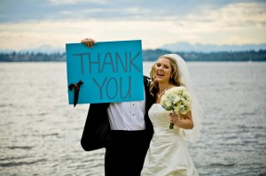 Carte de remerciement mariage: inspiration