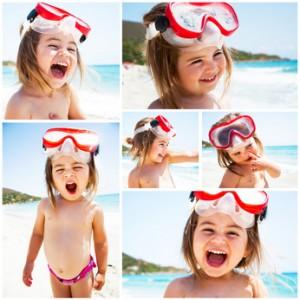 Prendre de belles photos d'enfants - pêle-mêle