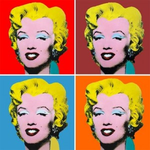 Photo sur toile de style pop art