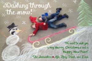 Carte de Noël - Idées sympa - 14