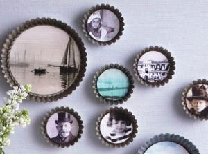 Des moules à gâteau pour des cadres photo