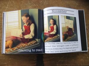Exemple de Yearbook chronologique