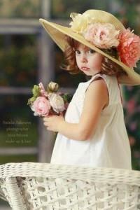 Photo de Pâques avec chapeau